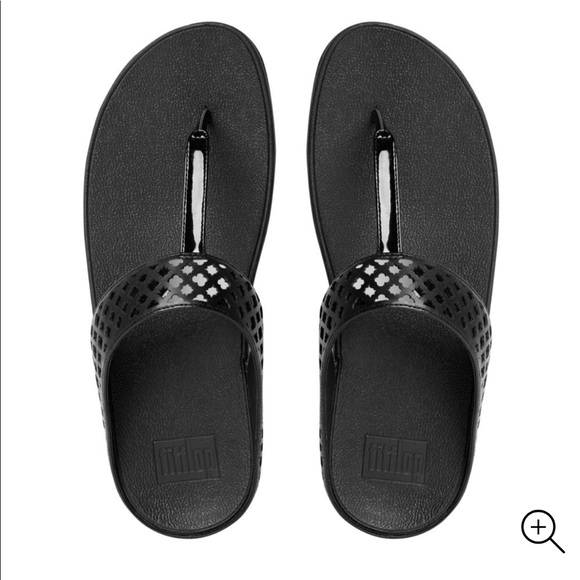 b683eadc04bb46 New FITFLOP safi post leather SZ 7